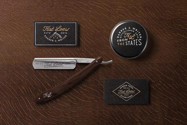 Biglietti da Visita per Parrucchieri - Barber and cosmetics