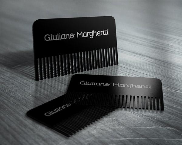 Biglietti da Visita per Parrucchieri - Comb card