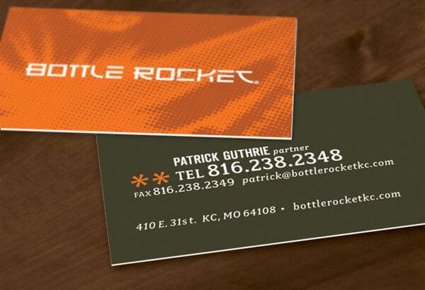 Biglietti da Visita per Ristoranti - Bottle Rocket