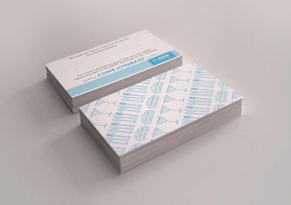 Biglietti da Visita per Ristoranti - Chemical Company