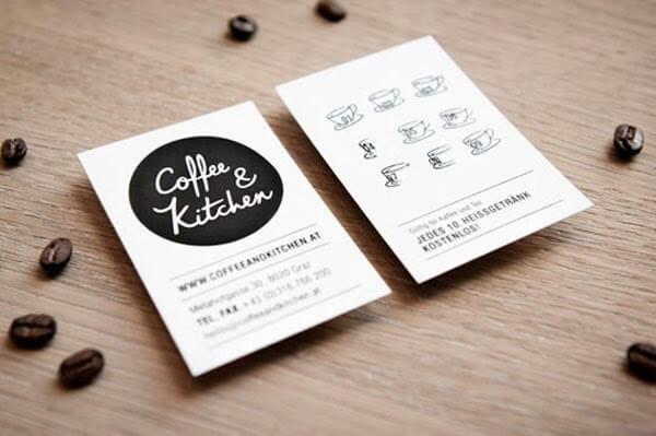 Biglietti da Visita per Ristoranti - Coffee Kitchen
