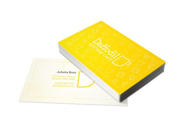 Biglietti da Visita per Ristoranti - Daffodil
