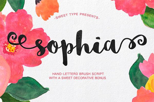 20 Bellissimi Font Femminili Gratis – Sophia