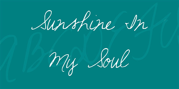 20 Bellissimi Font Femminili Gratis – Sunshine