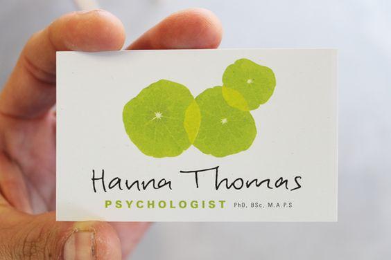 Biglietti da Visita per Psicologi - Catalogo Pinterest