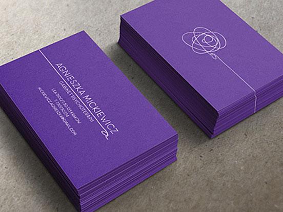 Biglietti da Visita per Psicologi - Mickiewicz card