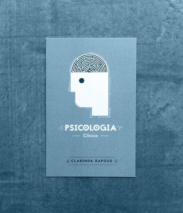 Biglietti da Visita per Psicologi - Psicologia clinica