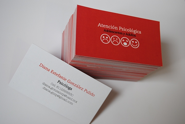 Biglietti da Visita per Psicologi - Psychology business card