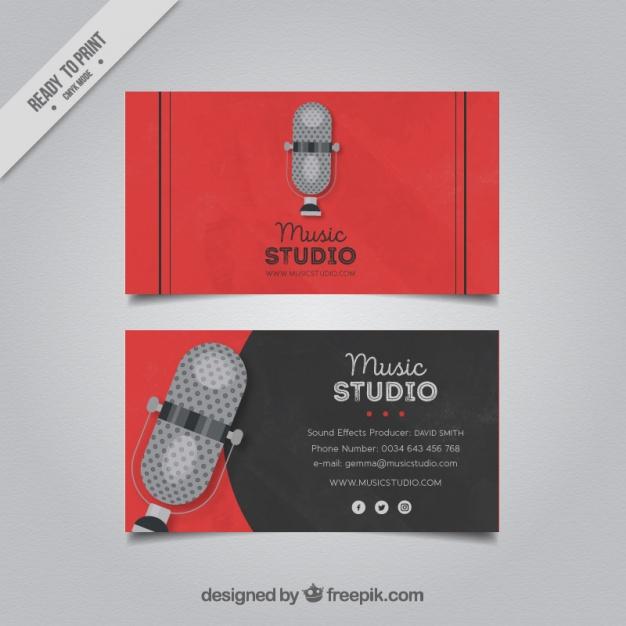 Biglietto da Visita DJ 01