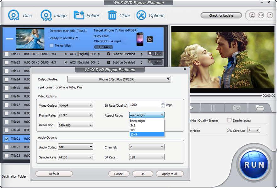 Come Rippare DVD con Protezione 99-title - WinX DVD Ripper Platinum
