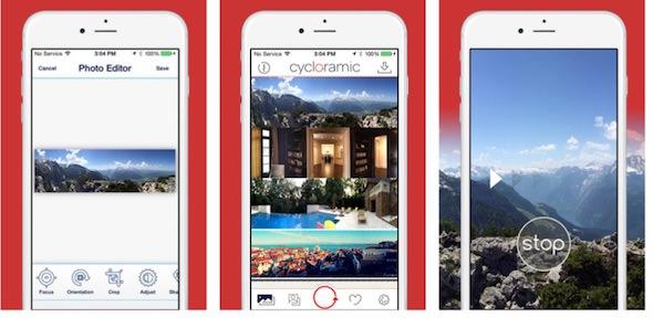 Le Migliori App per Fare Foto a 360 Gradi - Cycloramic