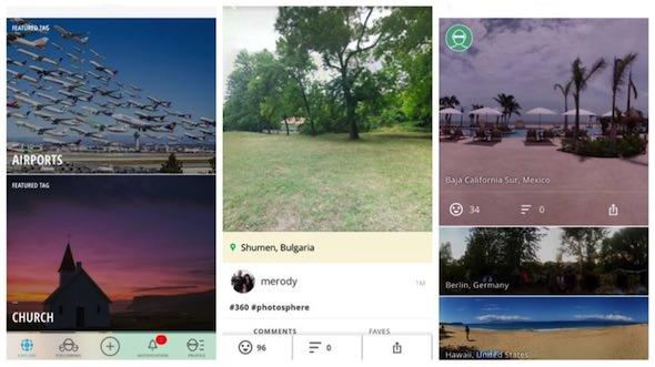 Le Migliori App per Fare Foto a 360 Gradi - Panorama 360
