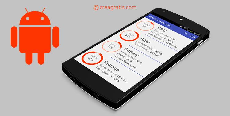 App Android per monitorare batteria, RAM e CPU