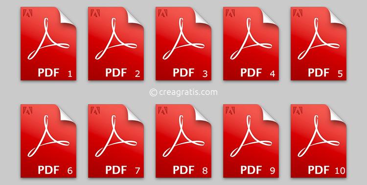 Siti per numerare i file PDF online