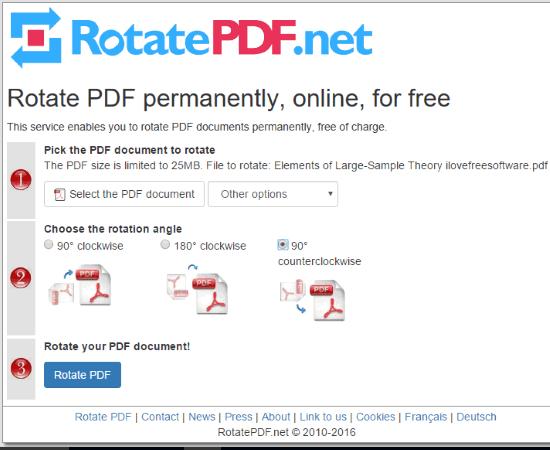RotatePDF