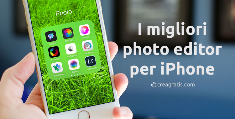 Le migliori app photo editor per iPhone