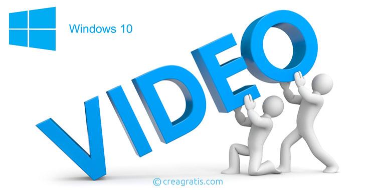 App per creare video con foto su Windows 10