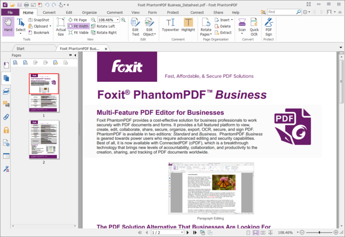 Foxit PhantomPDF Business 7