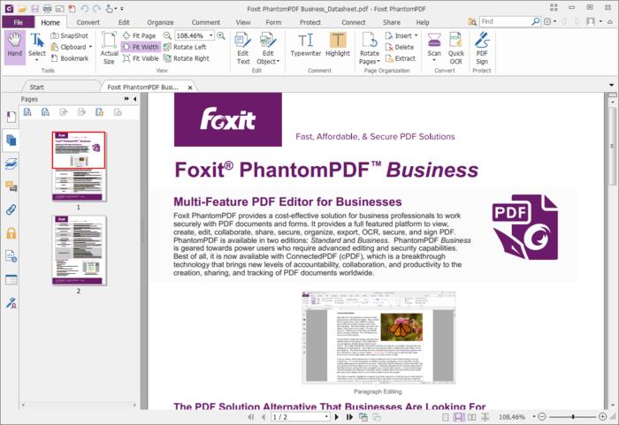 Foxit PhantomPDF Business 7
