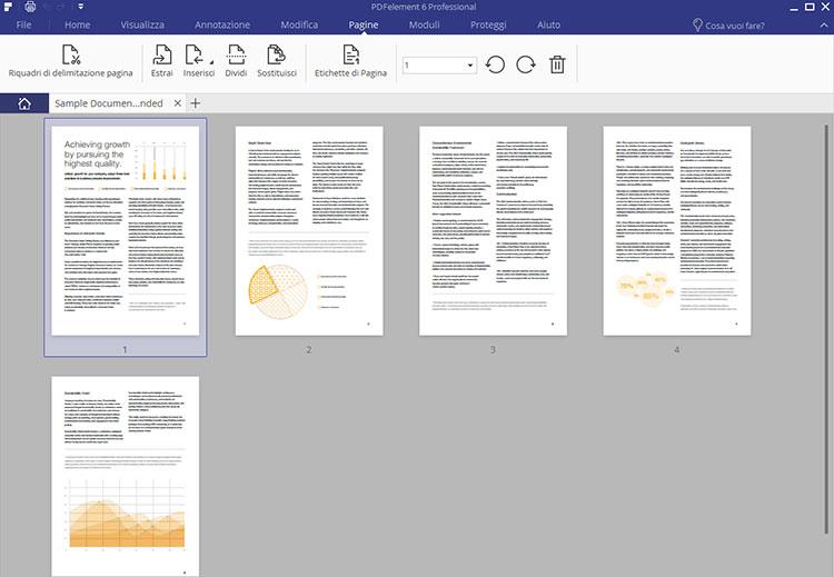 Schermata di PDFelement 6
