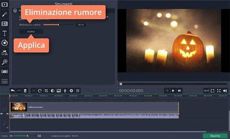 Seconda schermata di Movavi
