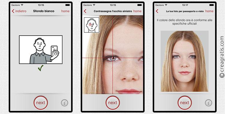 App per creare fototessere su iPhone