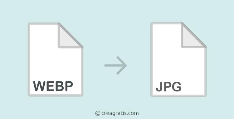Siti per convertire WEBP in JPG Online