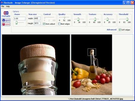 Dettaglio Reshade Image Enlarger