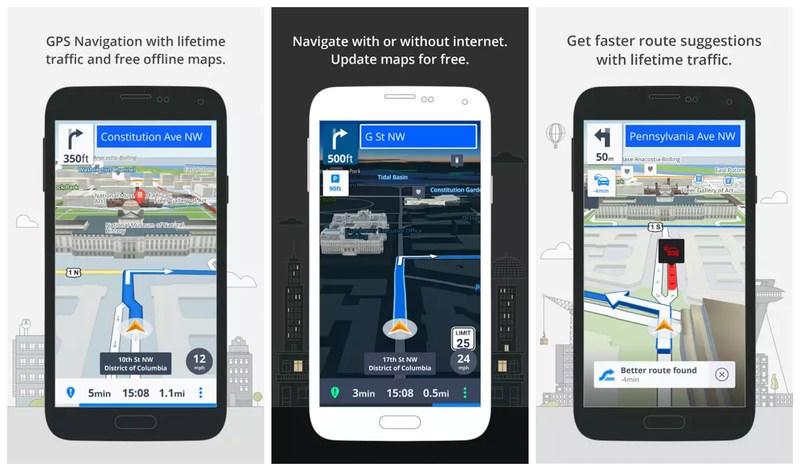 GPS Navigation and Maps Sygic