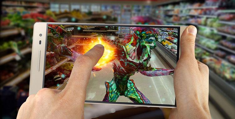 Giochi con realta aumentata per smartphone