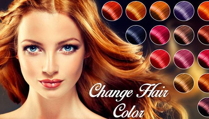 Le migliori app per cambiare il colore dei capelli