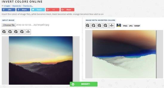 Pine Tools Invert Colors Online