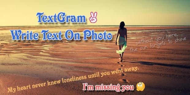 Textgram - write on photos