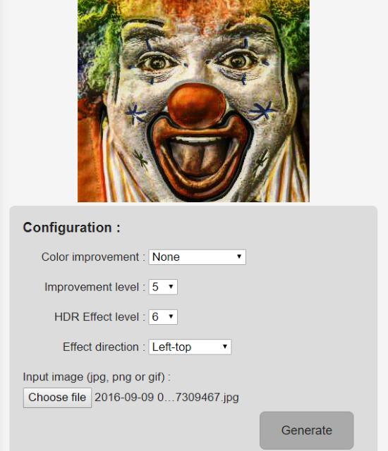 3D HDR Photo Effect Generator