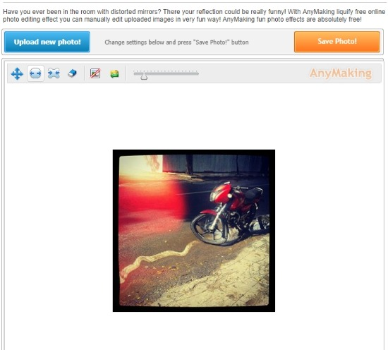 AnyMaking Liquify Photo Maker