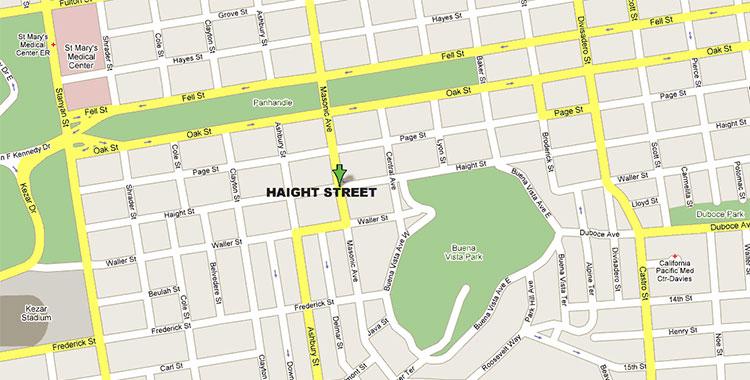 Mappa stradale che mostra un indirizzo preciso