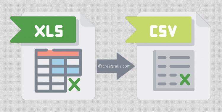 Convertire file Excel da XLSX a CSV online