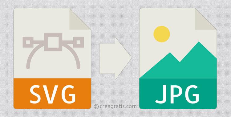 Siti per convertire file SVG in JPG