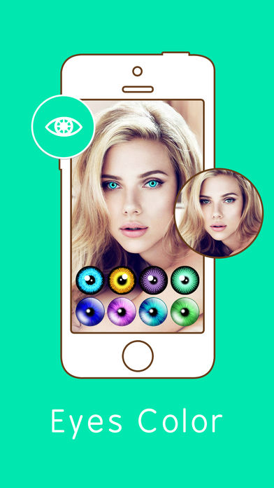 Eye Color Changer – Face Makeup (iOS)