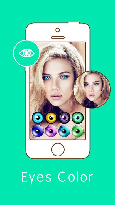 Eye Color Changer – Face Makeup (iOS)