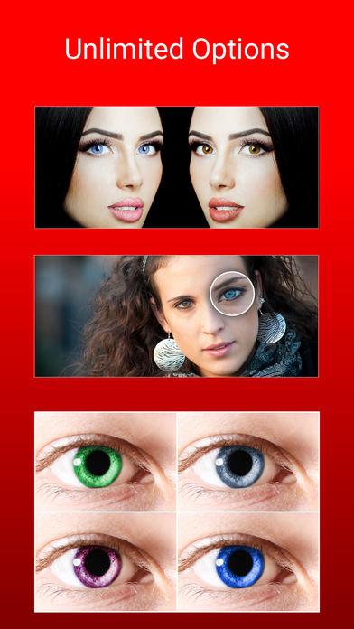 Eye Color Changer Makeup (iOS)