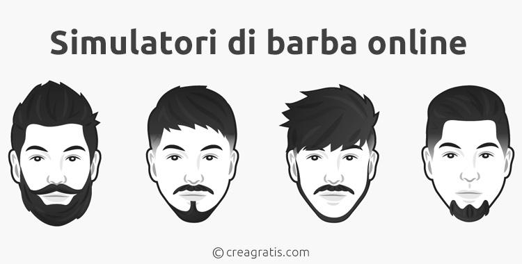 Siti per provare tipi di barba online