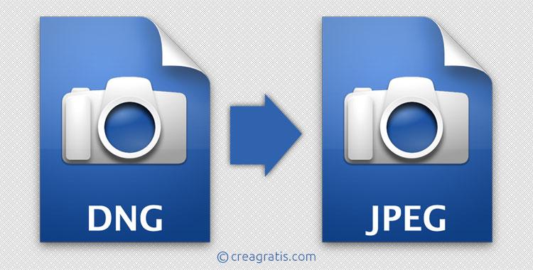 Siti per convertire DNG in JPG online