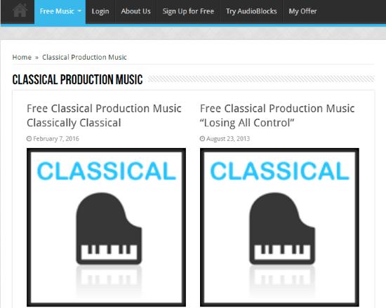Free Stock Music
