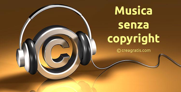 Scaricare musica senza copyright