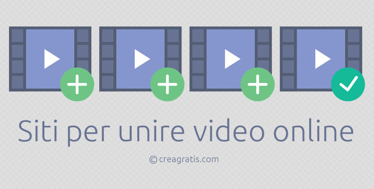 Siti per unire video online