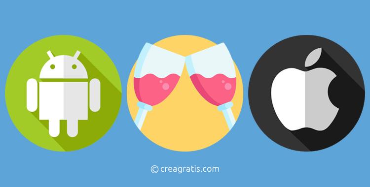 App sul vino per Android e iOS