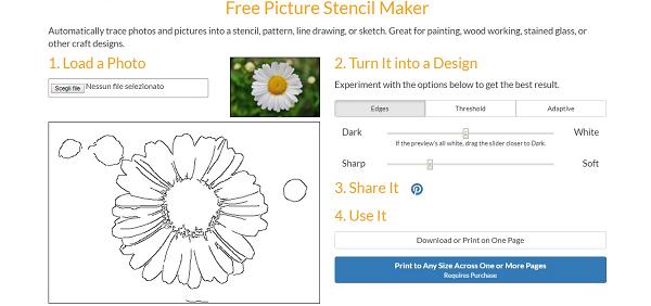 Free Picture Stencil Maker