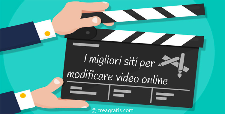 Siti per modificare video online