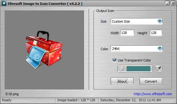 Efiresoft Image to Icon Converter